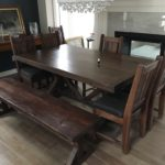 Farm House Dining Set hand crafted from reclaimed barnwood