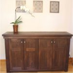 Rustic Modern buffet hand crafted from reclaimed barnwood