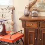 Rustic farmhouse buffet named after a town in Manitoba
