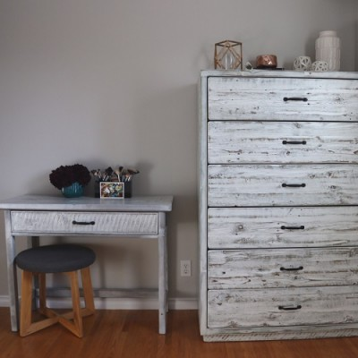 Rustic dresser hand crafted from reclaimed barnwood