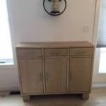 Rustic Modern Buffet hand crafted with reclaimed barnwood locally sourced in Ontario