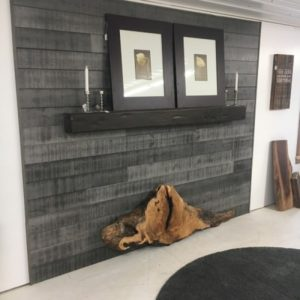 Rustic Pine accent wall boards T & G