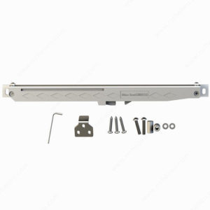 Prairie Barnwood Soft Close Mechanism for Sliding Door - Stainless - Product #- 246014170