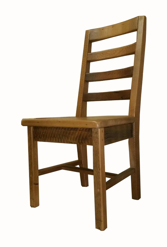 Rusitc chair hand crafted with reclaimed barnwood