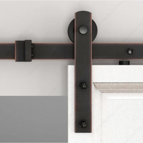 Prairie Barnwood The Zenitude Kit - With 2 M Rail - Brushed Bronze - Product #- 246016BORB (2)