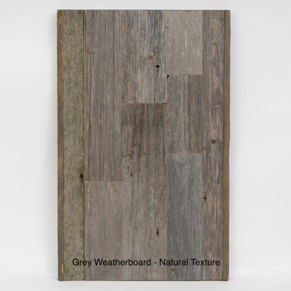 Prairie Barnwood Grey Weatherboard Sample