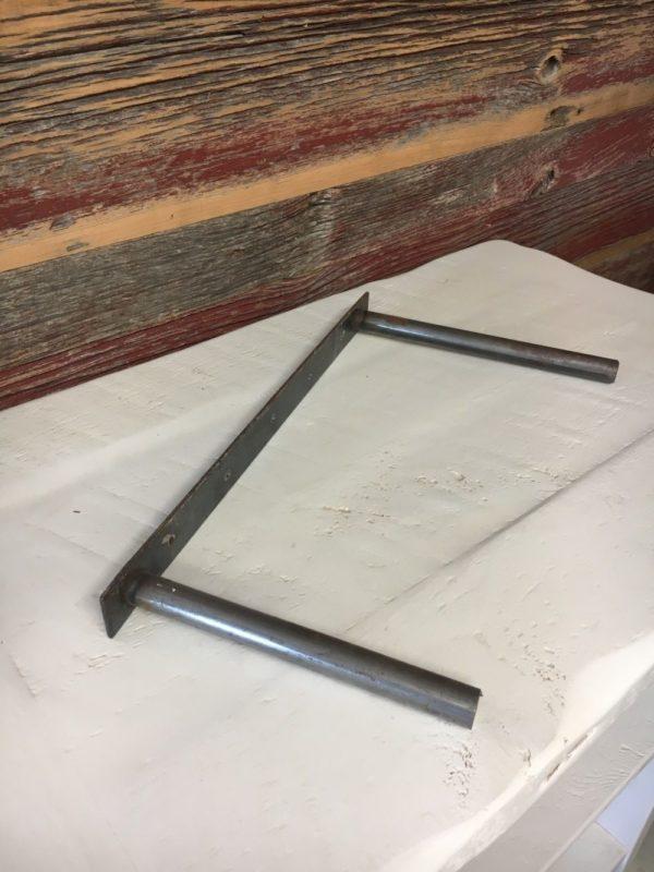 Prairie Barnwood Floating Shelf Bracket Hardware