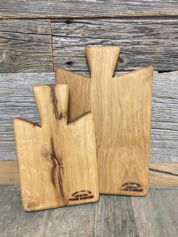 Prairie Barnwood CHEESE BOARD – 10″ X 6.5″